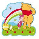Cuier 4 agatatoare Pooh