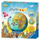 Puzzle 3D Globul Lumii, 108 Piese