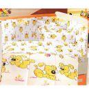 Set dormit creaforce baby- bumbac 100%  - Catelus galben